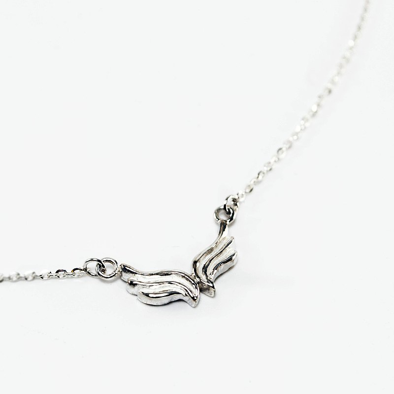 Zo.craft wings necklace / 925 sterling silver