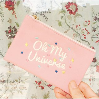 Oh My Universe Mini Makeup Bag - Pink