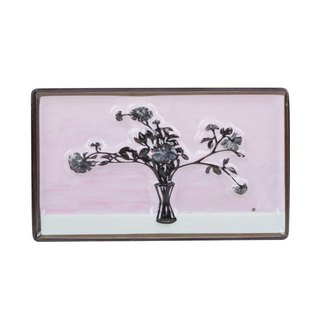 Chang Yu - Picture Frame Magnet - Bottle Flower