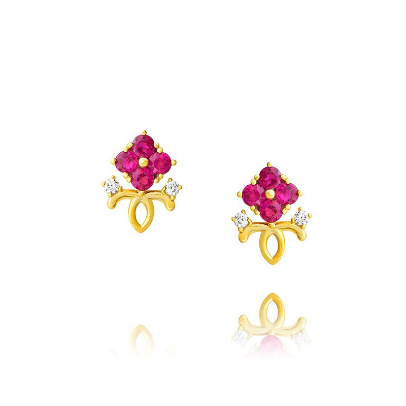 [brilliantia] 10K Royal Series - Earrings - (ET0132)