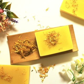 Soothing Calendula Soap] [Leian Bo soap. Infant baby soap │ │ │ natural handmade soap without fragrance