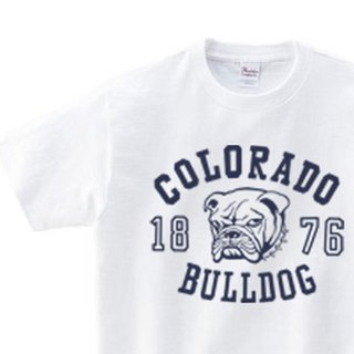 Colorado · Bulldog WM - WL • S - XL T - shirt 【Custom order】