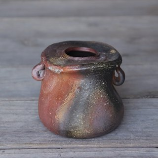 Bizen with flowers h 1 - 029