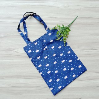 [waterproof shopping bag] cute pig