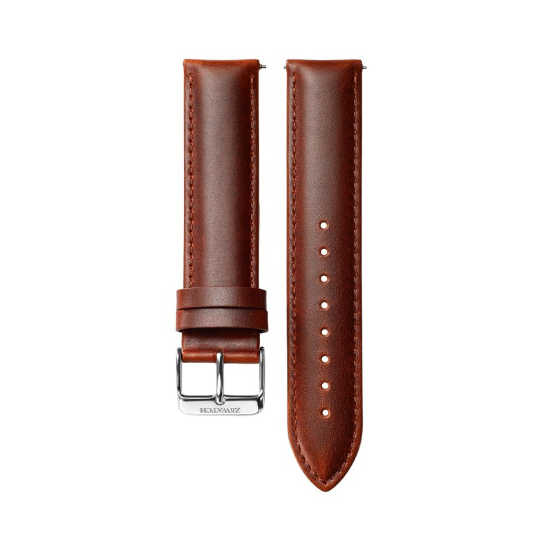 ITALY LEATHER Brown [Optional buckle color]