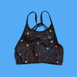 Pacman High neck Sport bras