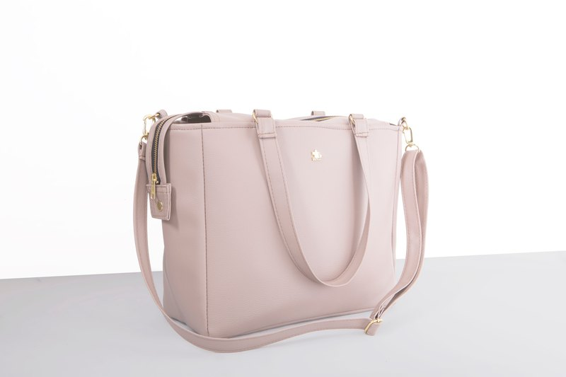 CLM will double buckle bag - light rose original price 2090 special 1990 (off the shelf)