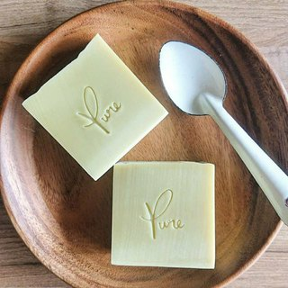 Pure Pure Handmade Soap - 【Pure Soap Series】 Avocado Pure Soap (Unscented Series)
