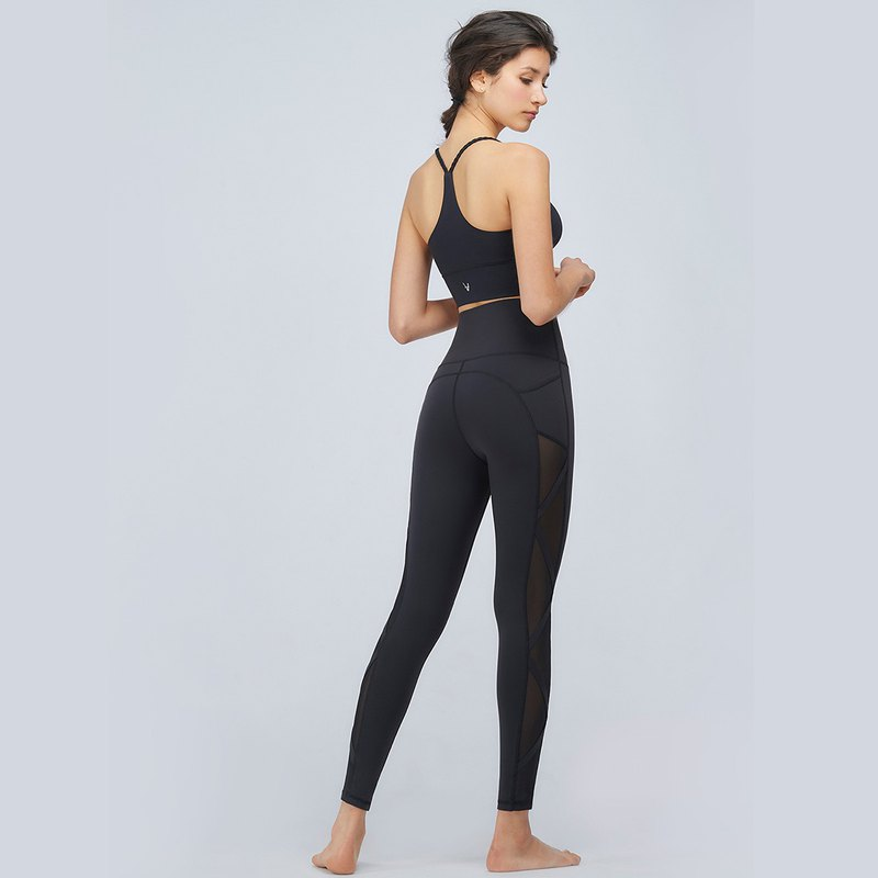 [MACACA] Jazz Girl Slim High Waist Pants - AOE7301 Black