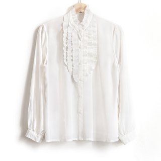 Vintage White Lotus Vintage Shirt