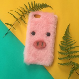 PIG PINK PHONE CASE
