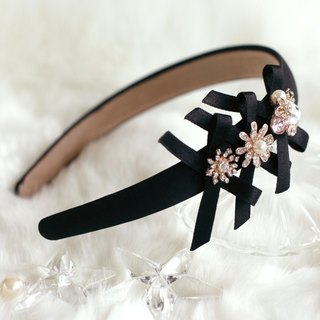 Ribbon with Accessorized Charms Headband