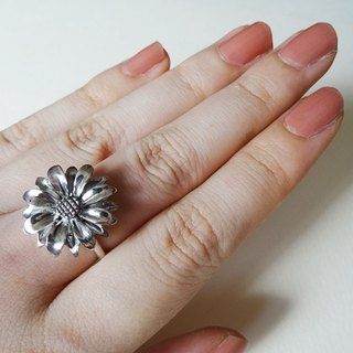 [Order production] daisy ring / Silver