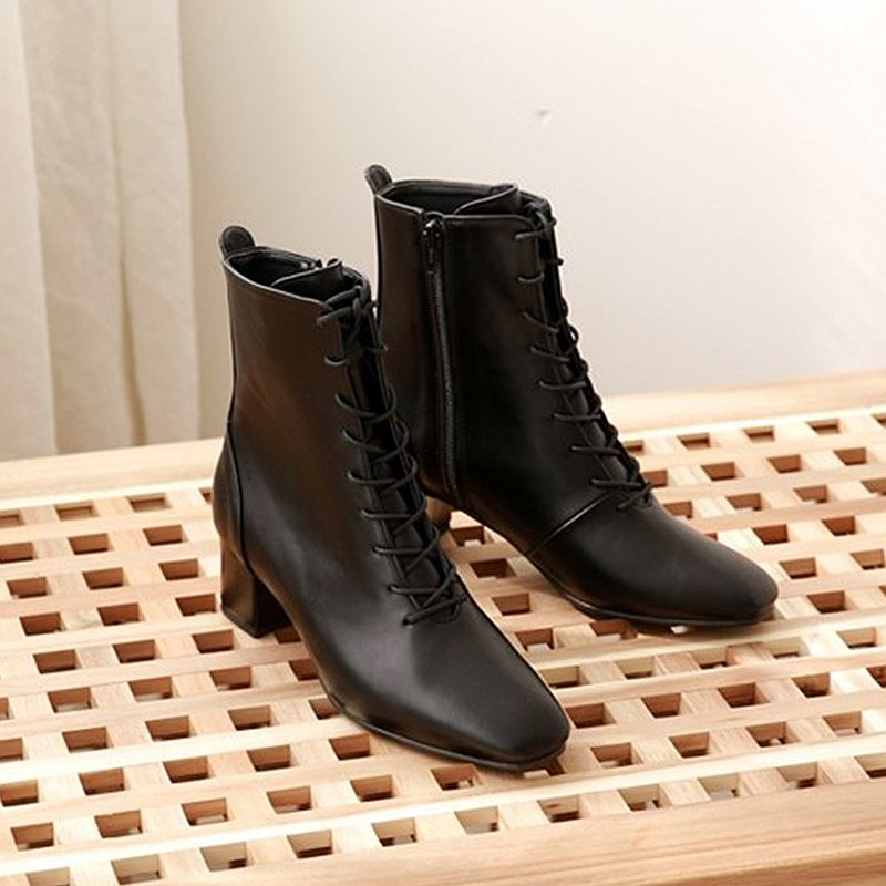PRE-ORDER 韓國人手製 MACMOC STEPANI (Black) 短靴