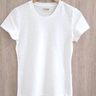 Blank plain white T-shirt (no fluorescent white)