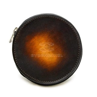 Akromo Brown Circle Coin Case