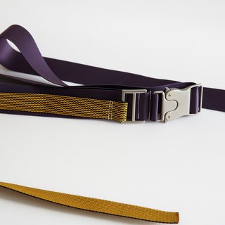 KAKY BELT 02-webbing long belt