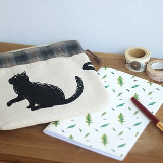 Handmade Handmade. Handmade Green Cat Day Handbag / Bunched Bag. Hand / book christmas, new year gift