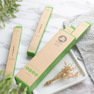 [Good day agooday] Environmentally friendly bamboo toothbrush - children's bamboo toothbrush (renewable environmentally friendly nylon) 4