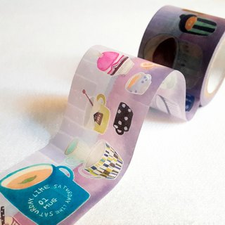 [Hoppy] Mini Box-Cup2 cup purple paper tape / GTIN: 4713077970867
