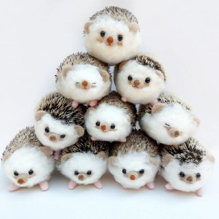 Needle Felt Animal Pet Portrait Hedgehog Commemorate