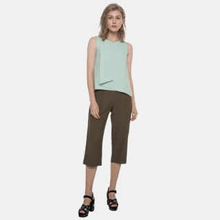 Layered Foldover Top (Mint)