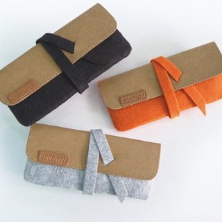 Suckerpouch : Stationery/ eyeglasses/make-up pouch