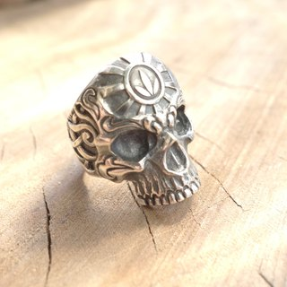 Sterling Silver - Carved Rings - Head Totem Customized Commodity Photos are for reference only