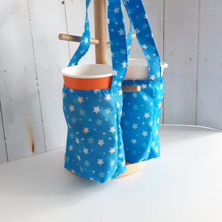 Star 2 with environmentally friendly waterproof beverage bag _2 cup can be 1 cup _ general size ice dam cup size