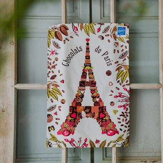 French Wipes / Chocolate Eiffel Towel