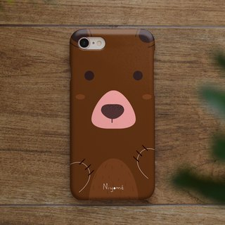 iphone case the cute brown bear for iphone5s,6s,6s plus, 7,7+, 8, 8+,iphone x