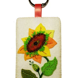 Flower Series Card Case - Sunflower