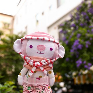 [cloth commemorative doll] monkey