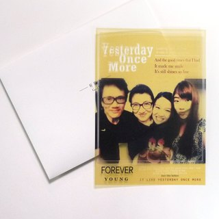 Good Times | Exclusive your old days -02 transparencies grow greeting Memorial