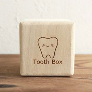 Breast tooth box High quality 'kiri' dog cat 'iroha: Illustration of a tooth form' Child's teeth Adult's teeth Baby gifts Present Iroha teeth type (dog cat adult tooth box child tooth box milk tooth case) paulownia box pet