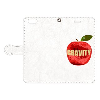 [Notebook type iPhone case] gravity