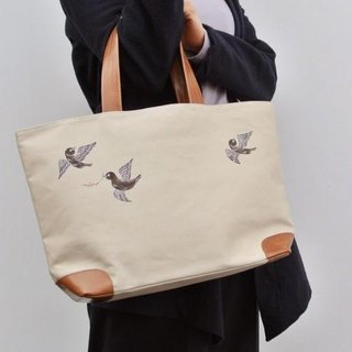Tote bag on the dove to the south