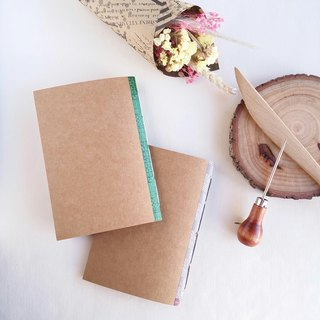 Saddle-stitched kraft paper set chapter (small book 2) handmade book line-bound book notebook book