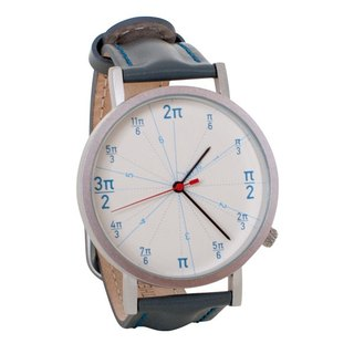 Circular neutral watch
