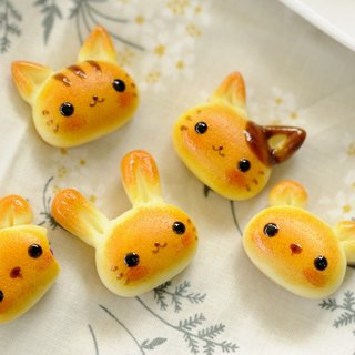 Sweet Dream ☆ delicious animal bread / bag ornaments key ring