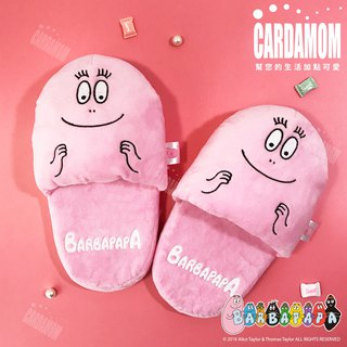 [BARBAPAPA bubble Mr.] comfortable and soft cute fluffy indoor drag · genuine license