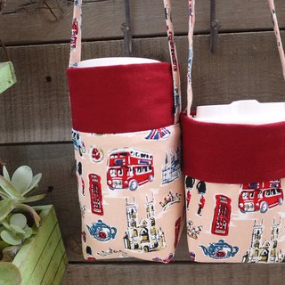 Double Sided Drink Bag ~~(English Red) One Large Cup One Side ~ Zodiac 750 Burner