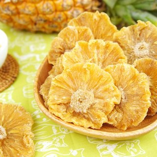 [afternoon snack light] Guan Temple gold diamond sugar-free pineapple flower dried fruit (200g / bag)