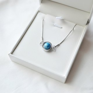 Aqueous Necklace -- silver