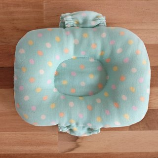 Mi Yue Li - Clear Lake Water Green Jade Baby Pillow - Nursing Pillow