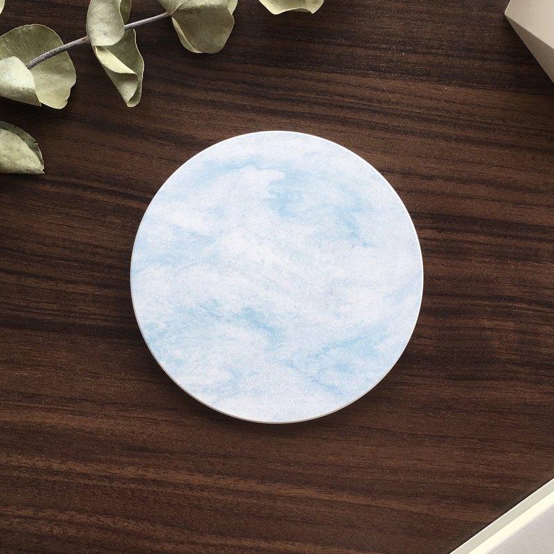 隱喻-陶瓷吸水杯墊