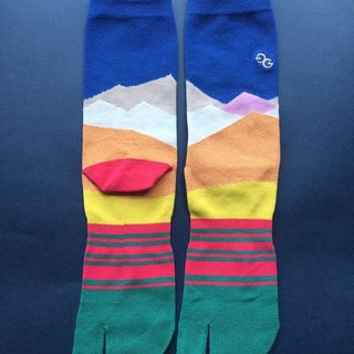 GillianSun socks Collection 【NEW TWO TOE SOCKS】 TABI_BL1801_MEN