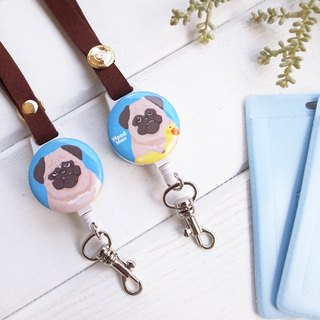 Pug, Extendable card holder