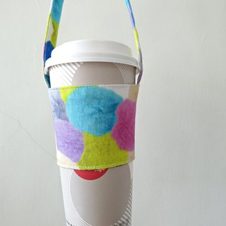 Drink cup sets environmental Cup sets of hand drinks bags coffee bag bag - color cotton balls