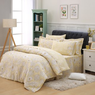 Double size sunflower dream - Tencel dual-use bedding set of six [100% lyocell] emperor fold